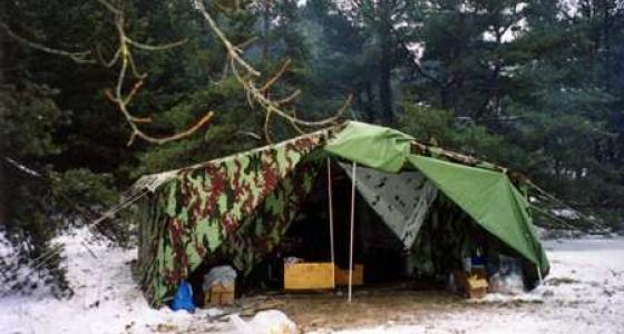 Армейские палатки и палатки специального назначения