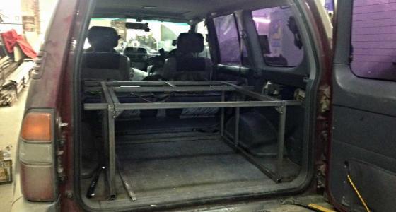 Система организации багажного пространства «Спальник»